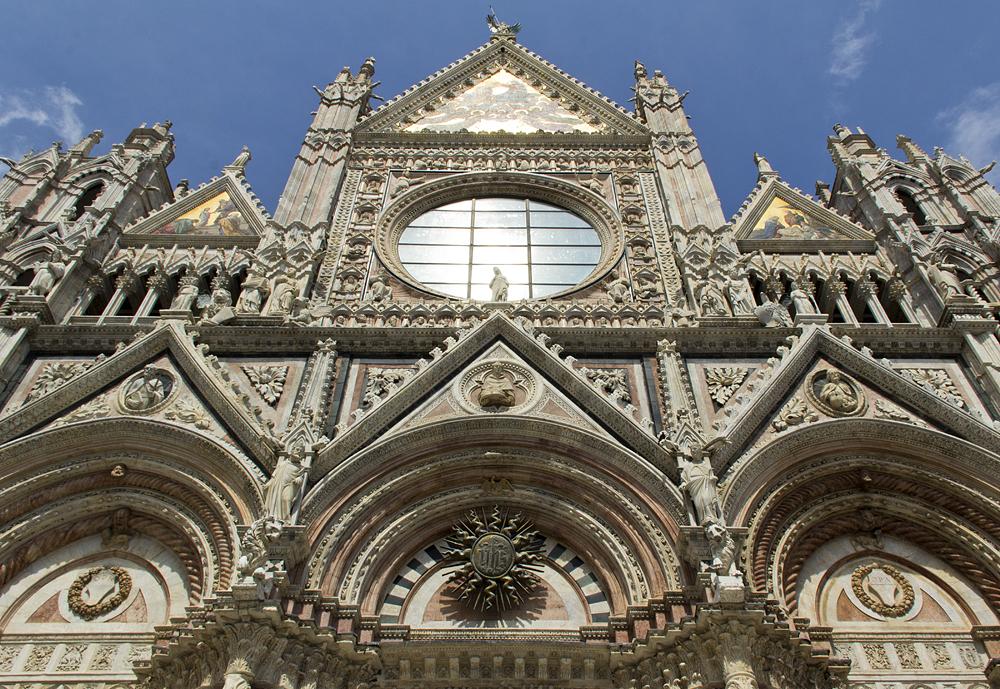 Duomo di Siena, Fassade