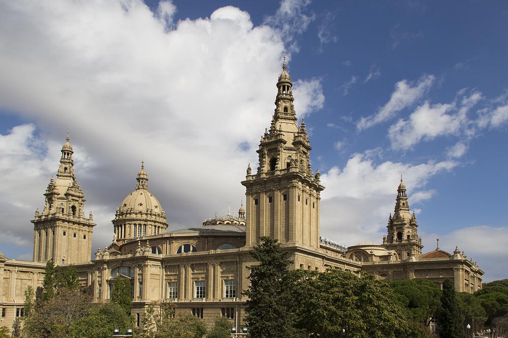 Barcelona,  Montjuïc, Palau Nacional