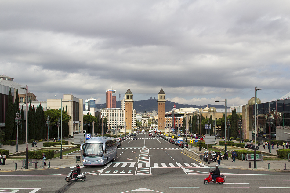 Barcelona, Avinguda de la Reina Maria Christina