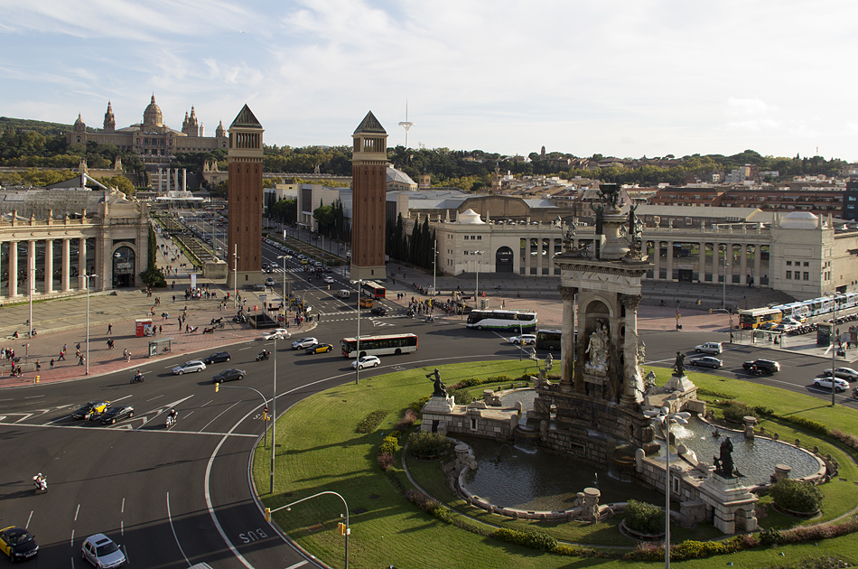 Barcelona,  Plaça d'Espanya