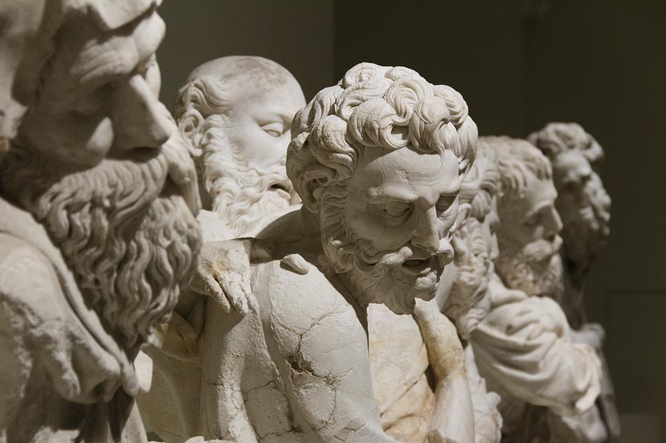Barcelona, Maria und Apostel, Damià Forment, Museu Nacional d'Art de Catalunya