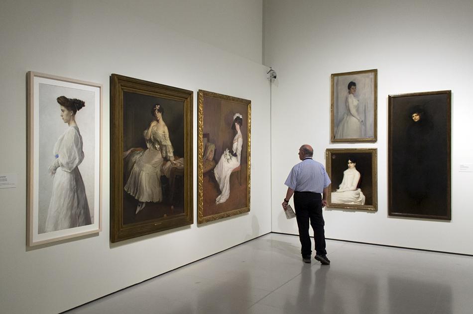 Barcelona, Portraits, Modernism, Museu Nacional d'Art de Catalunya