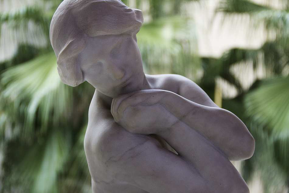 Barcelona, Josep Llimona, Nude, Museu Nacional d'Art de Catalunya