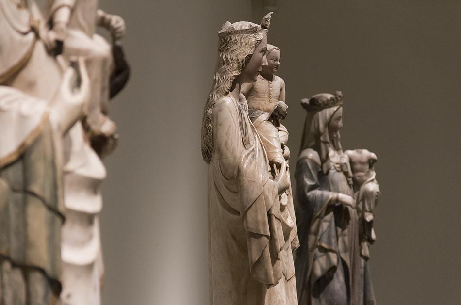 Barcelona, Mittelalter, Madonna, Museu Nacional d'Art de Catalunya