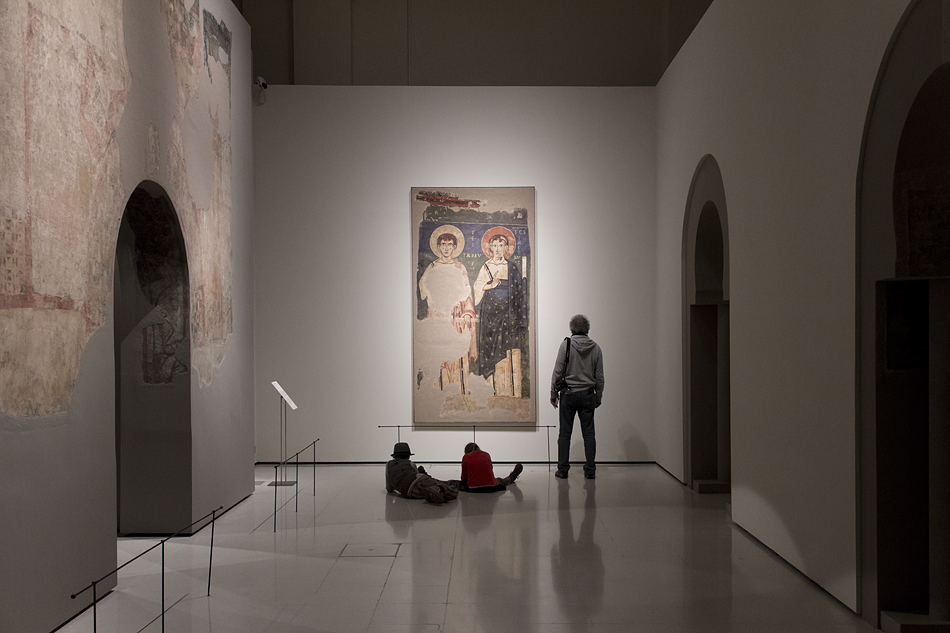 Barcelona, Mittelalter-Abteilung, Romanik, Museu Nacional d'Art de Catalunya