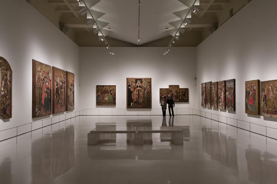 Barcelona, Mittelalter, Gotik, Museu Nacional d'Art de Catalunya