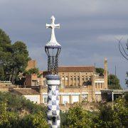 Barcelona, Park Güell, Hermanas Servidoras de Jesús del Cottolengo del Padre Alegre