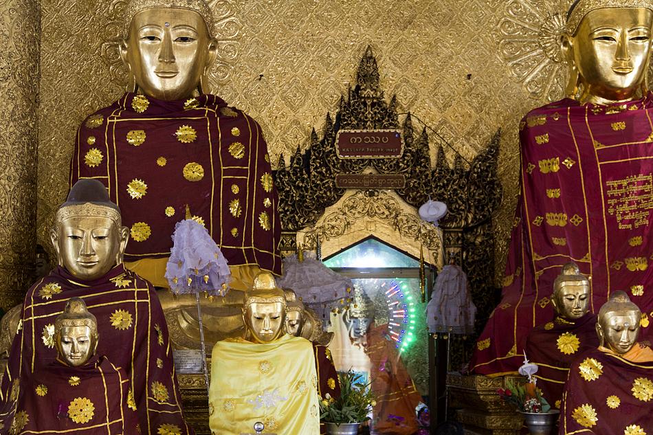 Yangon, Shwedagon Pagoda, Kassapa Buddha