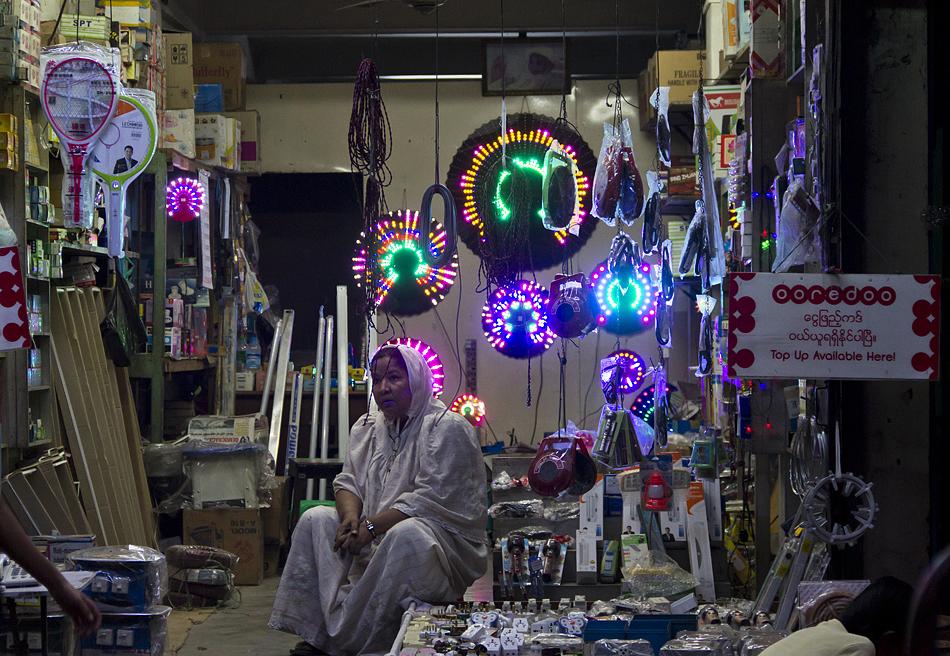 Yangon, Markt