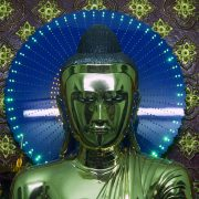 Yangon, Sule Pagoda, Buddha