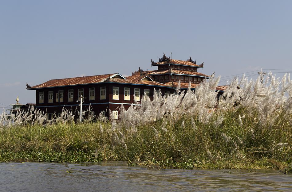 Myanmar, Inle-See, Kloster