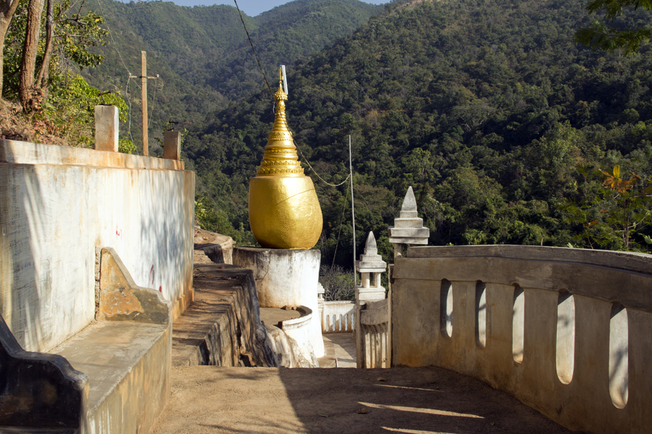Inle-See, Bergkloster bei Maing Thauk
