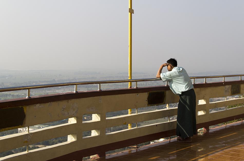 Mandalay Hill, Aussichtsplattform
