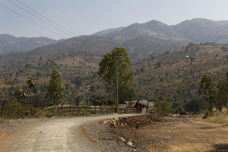 Myanmar, Nyaung Shwe, Berge