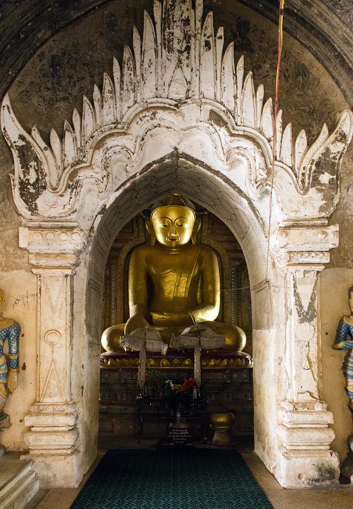 Bagan, Minnanthu,  Buddha, Lemyethna