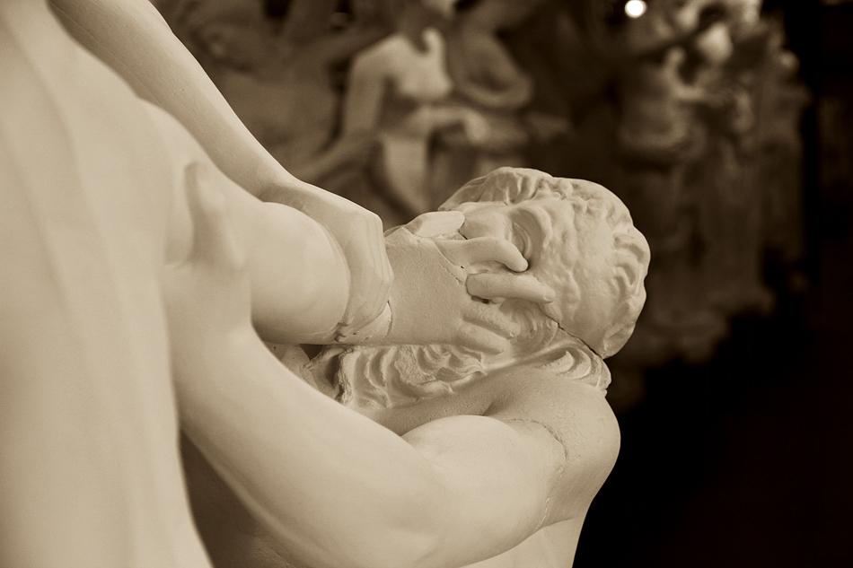 Abguss-Sammlung Antiker Plastik der Freien Universität Berlin, Gips, Satyr und Hermaphrodit
