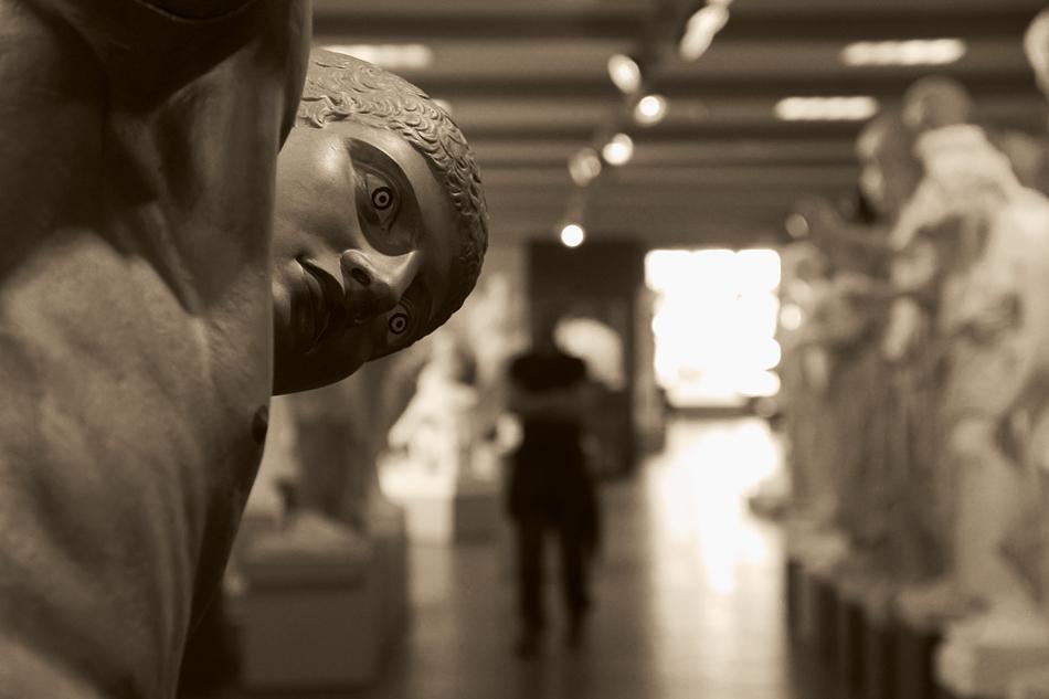 Abguss-Sammlung Antiker Plastik der Freien Universität Berlin, Gips, Diskuswerfer des Myron
