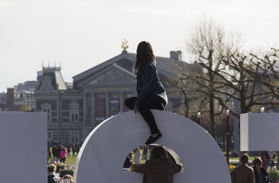 I Love Amsterdam, Museumplein und Concertgebouw,