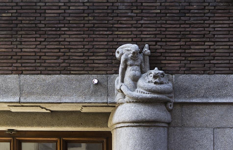 Amsterdam, Uitbreiding Stadhuis, Amsterdam School