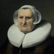Amsterdam, Rijksmuseum, Ferdinand Bol (zugeschrieben), Portrait einer alten Dame, vermutlich Elisabeth Bas