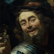 Amsterdam, Rijksmuseum, Gerard von Honthorst, Der glückliche Geiger