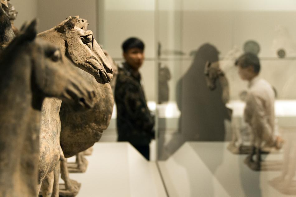 Amsterdam, Rijksmuseum, Horses from China