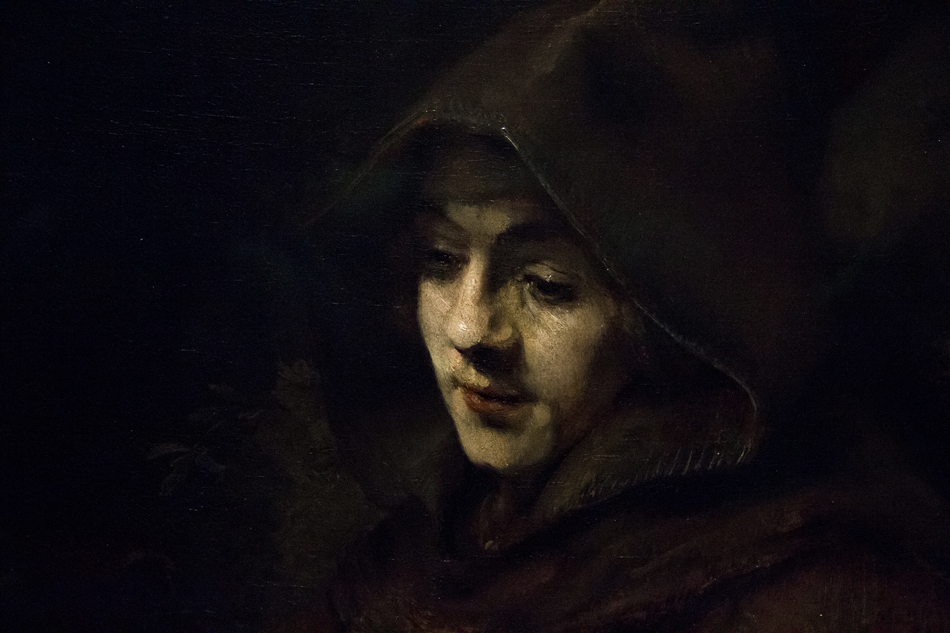 Amsterdam, Rijksmuseum, Rembrandt, Tituas as Monk