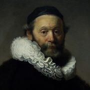 Amsterdam, Rijksmuseum, Rembrandt, Portrait Johannes Wtenbogaert