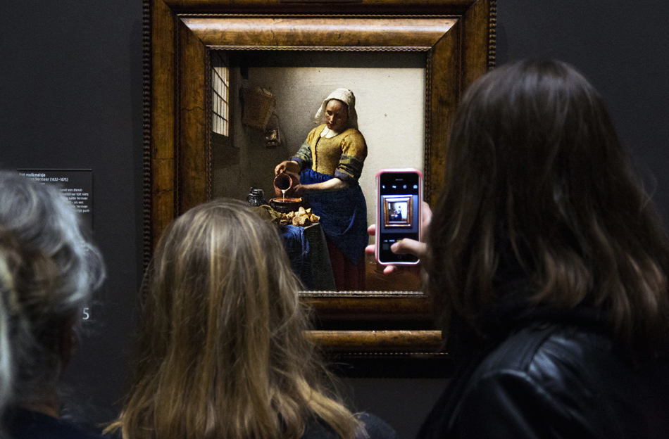 Amsterdam, Rijksmuseum, Milkmaid