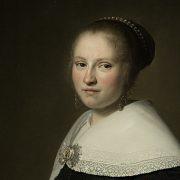 Amsterdam, Rijksmuseum, Johannes Cornelisz Versproenck, Portrait Maria van Strijp