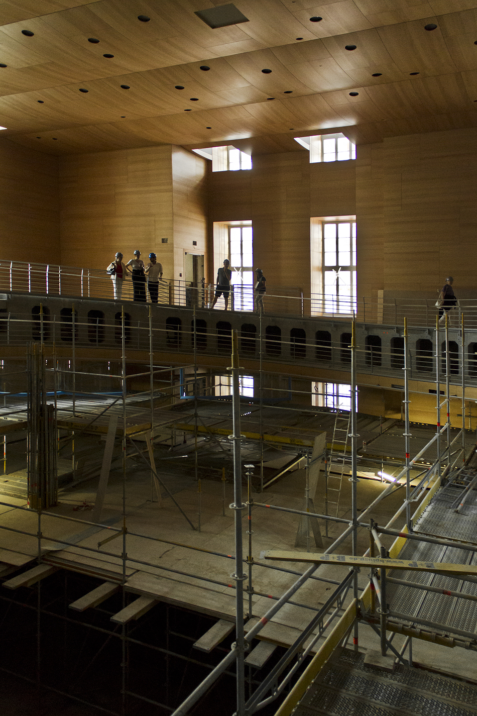 Berlin, Baustelle Barenboim-Said Akademie, Frank Gehry, Pierre-Boulez-Konzertsaal