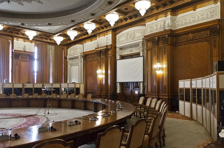 București, Palatul Parlamentului, Interior, Hall of Human Rights