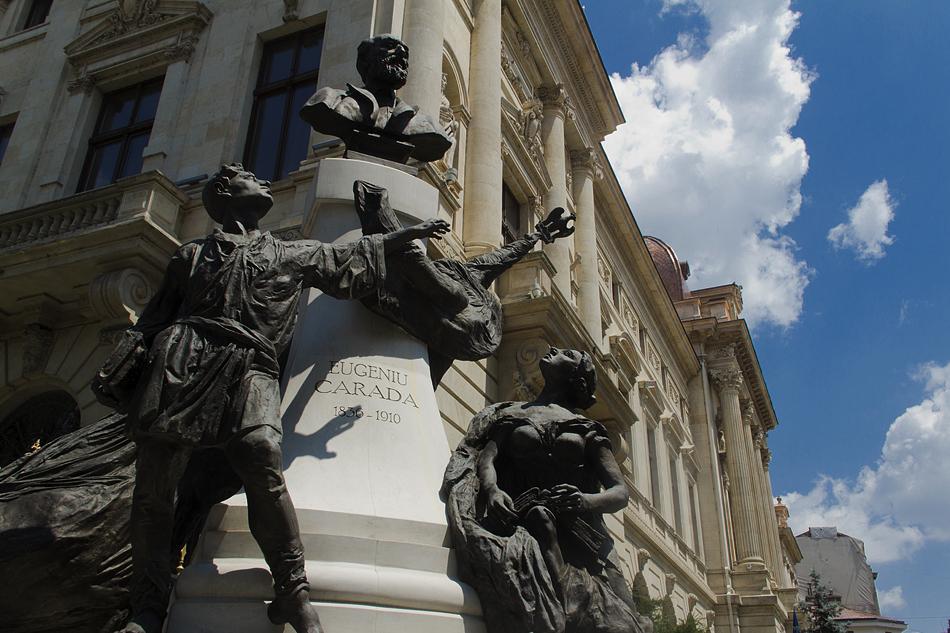 Bukarest, Architektur, Eugeniu Carada, Banca Națională a României