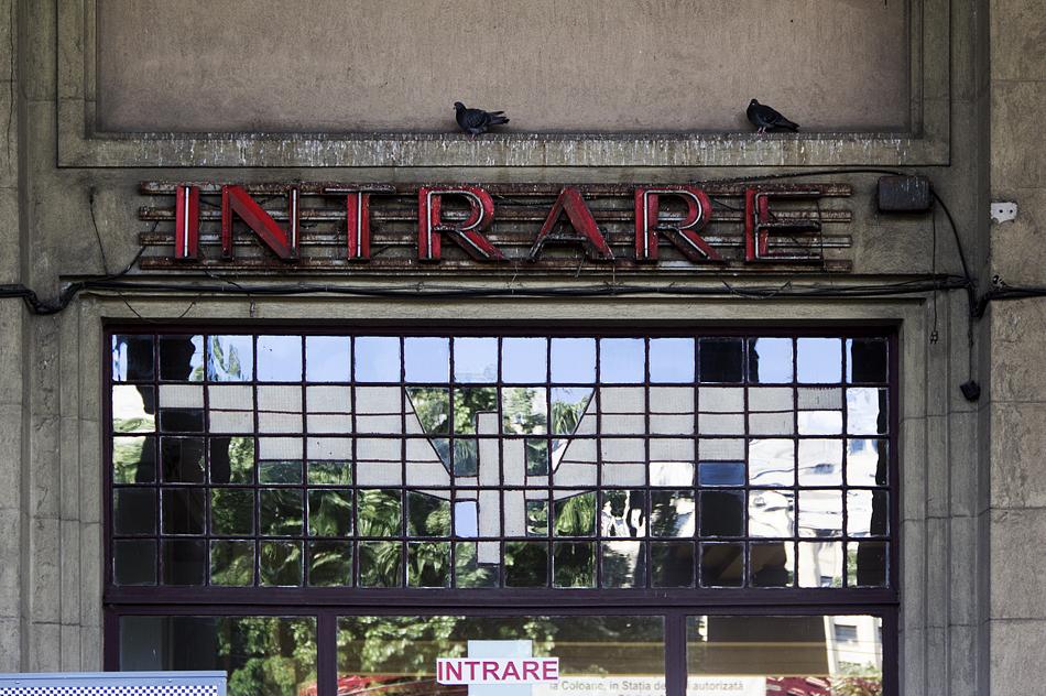 Bukarest, Entrance Gara de Nord