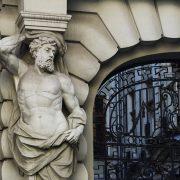 Bukarest, Karyatide, Strada Ion Ghica