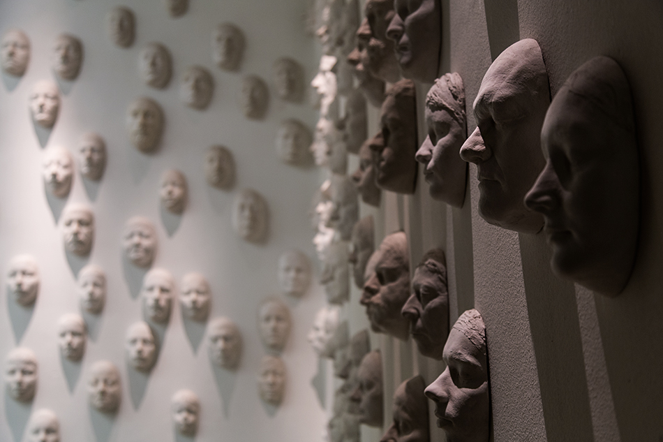 Halle Saale, Installation im Museum für Vorgeschichte