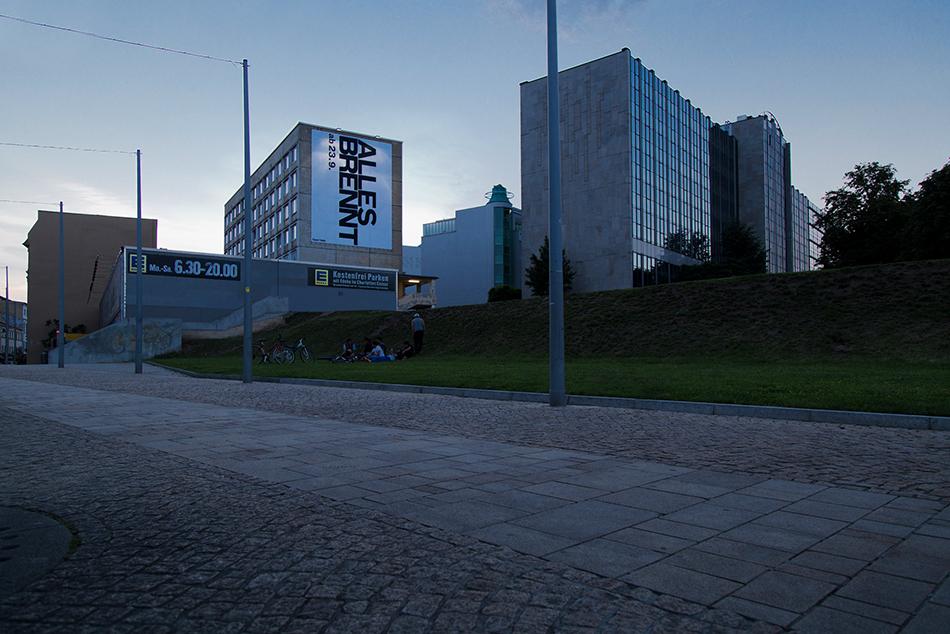 Halle Saale, Riebeckplatz