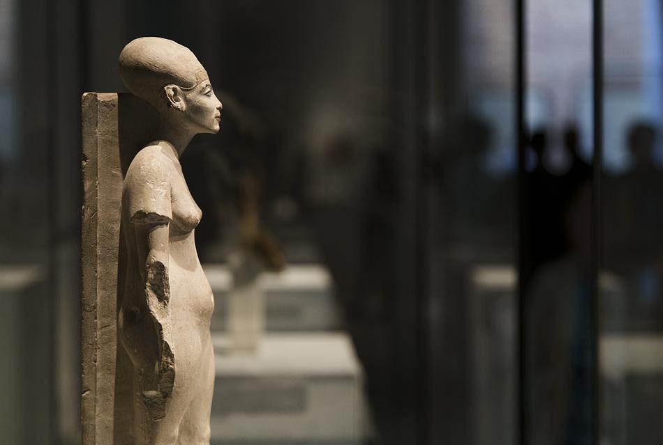 Neues Museum, Statuette der Nofretete