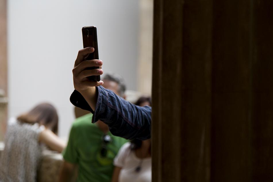 Pergamonmuseum, Selfie