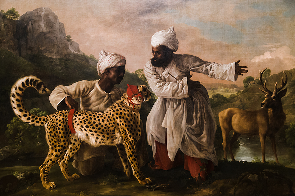 Manchester Art Gallery, George Stubbs, Cheetah and Stag with Two Indians