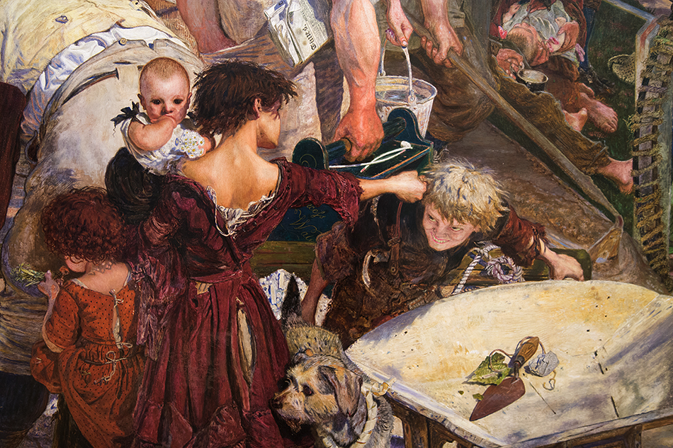 Manchester Art Gallery, Ford Madox Brown, Work