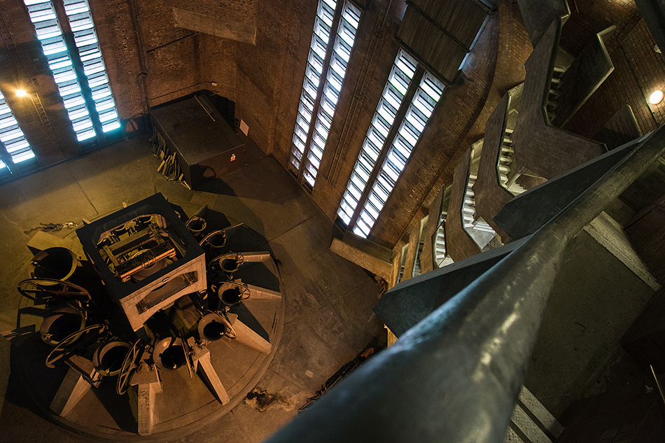 Liverpool Cathedral, Stairs in the Bell Tower