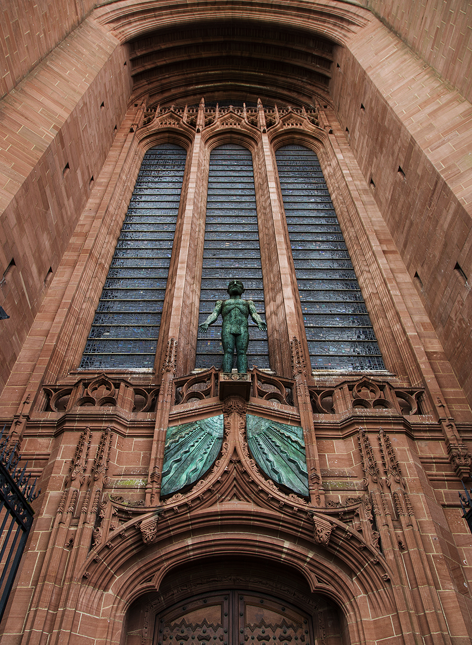 Liverpool Cathedral, Entrance and Facade