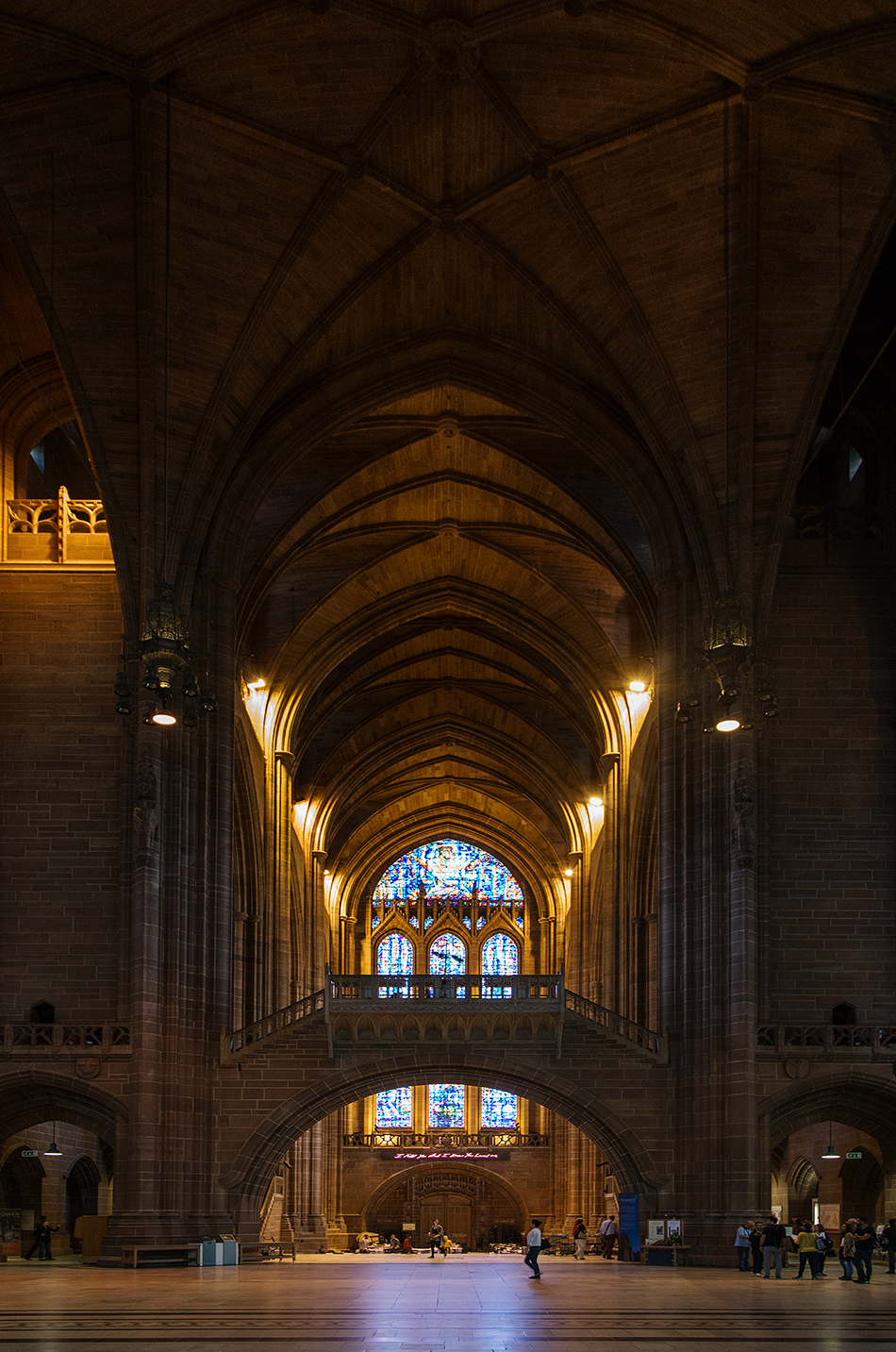 Liverpool Cathedral, Liverpool Cathedral, Interior, Nave
