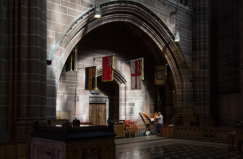 Liverpool Cathedral, War Memorial Transept