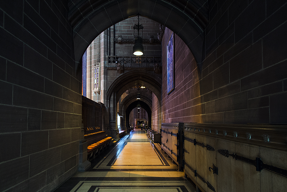 Liverpool Cathedral, Seitenschiff