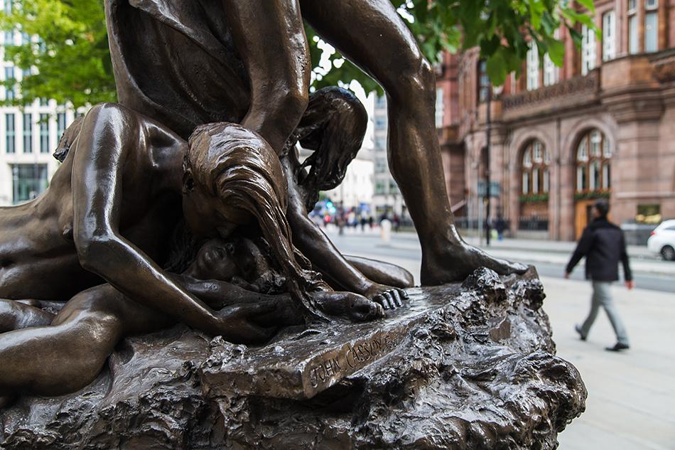 Manchester, Adrift, Sculpture  by John Cassidy