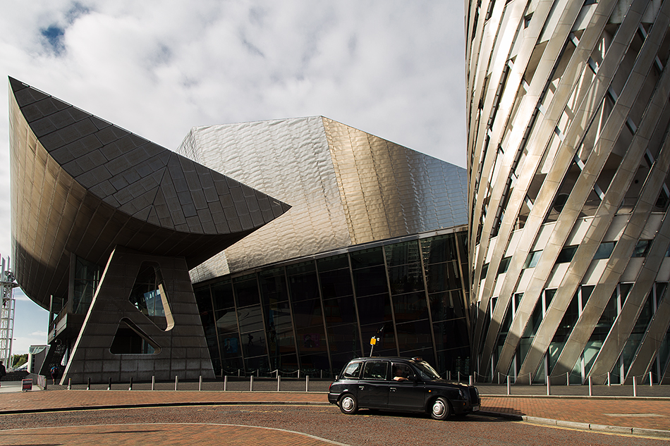 Salford, MediaCity UK, The Lowry, Entrance