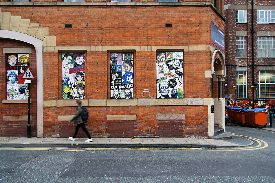 Manchester, Mark Kennedy  in Tib Street