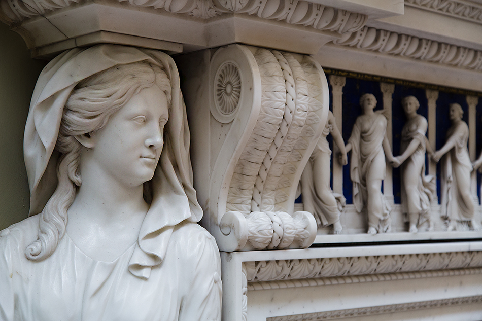 Lady Lever Art Gallery, Chimneypiece